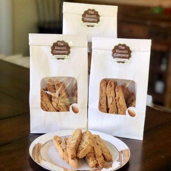almond biscotti 3-pack