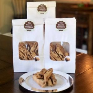 chocolate almond biscotti 3 pack