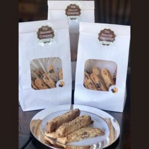 dark belgium chocolate orange almond biscotti 3 pack