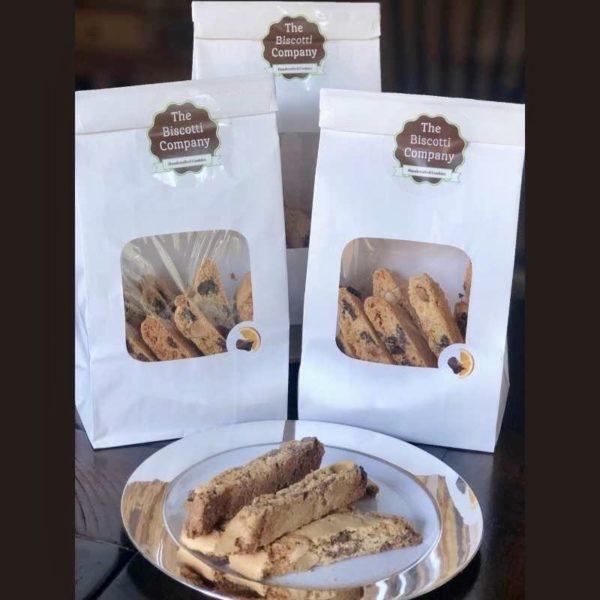 dark belgium chocolate orange almond biscotti 3 pack