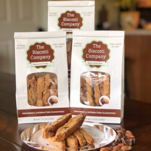 chocolate almond biscotti 3pk